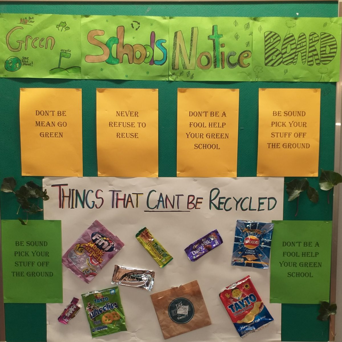 Green Schools Notice Board