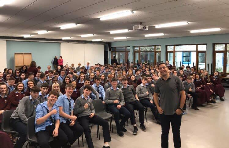 Kenneth Egan visit St. Mary's