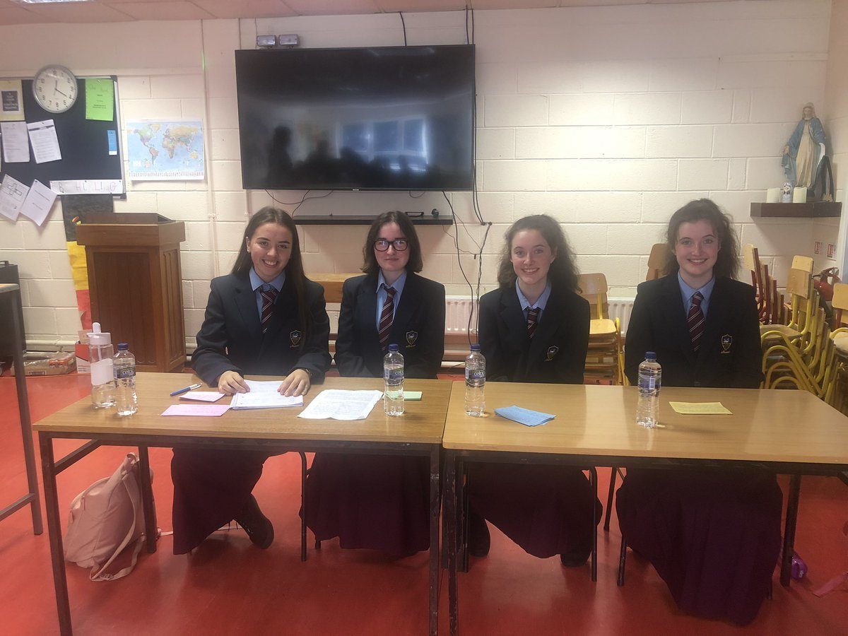 TY students involved in German Debate