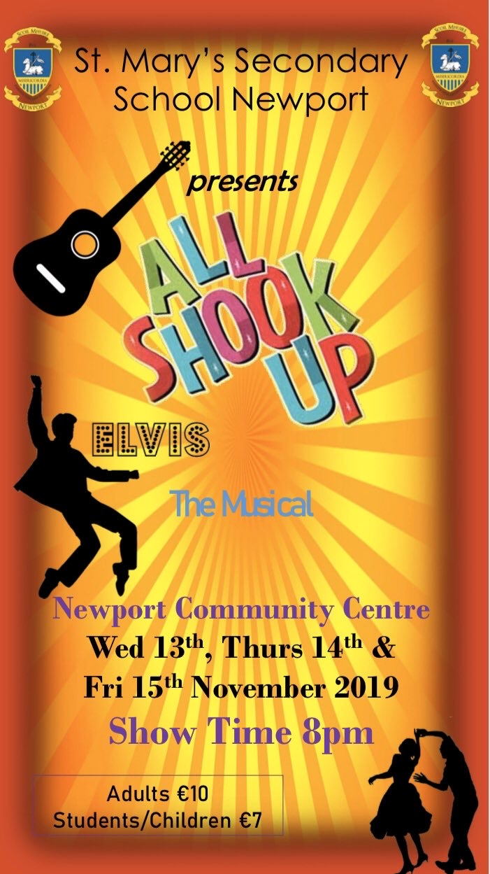 All Shook Up comes to the stage next week!