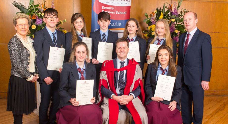 JC Business Studies Awards Ceremony - St  Mary's Secondary School